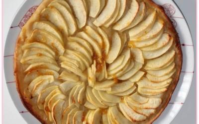 Tarte aux pommes sans gluten (feuilletée)